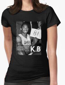 Kobe 81 Womens Fitted T-Shirt