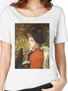 James Tissot - Type Of Beauty  Women's Relaxed Fit T-Shirt