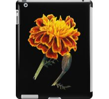 French Marigolds watercolor painting iPad Case/Skin