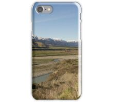 Road to Two Brothers, Lewis Pass, Canterbury, NZ iPhone Case/Skin
