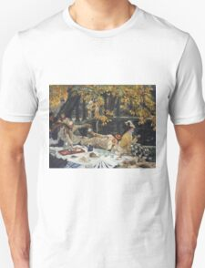 James Tissot - Holyday (1876)  Unisex T-Shirt