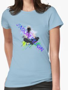 J'adore Design: Be Seated Womens Fitted T-Shirt