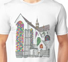 Stained Glass Windows Unisex T-Shirt