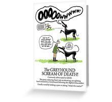 Greyhound Glossary: GSOD Greeting Card
