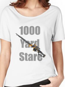 1000 Yard Stare Women's Relaxed Fit T-Shirt