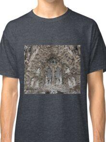 Facade de la nativite Classic T-Shirt
