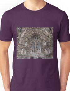 Facade de la nativite Unisex T-Shirt