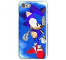 Sonic the Hedgehog - Low Poly iPhone Case/Skin