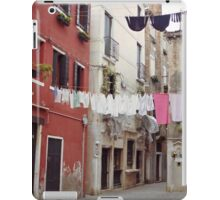 Wash Day, Venice iPad Case/Skin