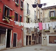 Wash Day, Venice by Tiffany Dryburgh