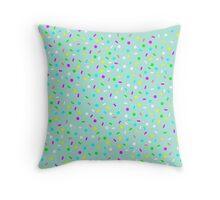 Mint & Sprinkles Throw Pillow