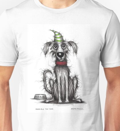Horrible the dog Unisex T-Shirt