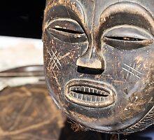 wooden mask by spetenfia