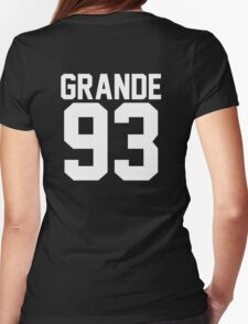 #ARIANAGRANDE Womens Fitted T-Shirt