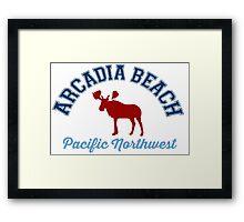 Arcadia Beach. Framed Print