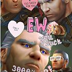 Khadgar Collage by jyeotoole