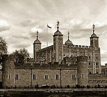 The Tower of London or Her Majesty's Royal Palace and Fortress of the Tower of London by Dennis Melling