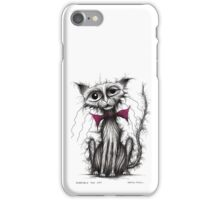 Horrible the cat iPhone Case/Skin
