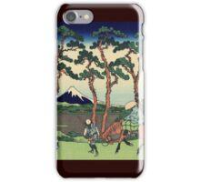 Hokusai Katsushika - Hodogaya on the Tokaido iPhone Case/Skin