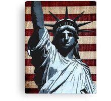 Liberty Flag Canvas Print