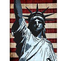 Liberty Flag Photographic Print