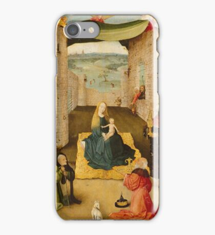 Hieronymus Bosch - The Adoration Of The Magi 1475 iPhone Case/Skin