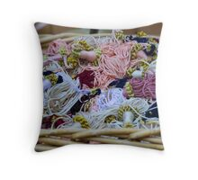 curtain accessory Throw Pillow