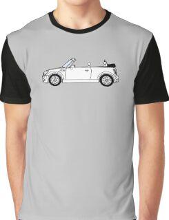 Mini, Cooper, Convertible, BMW, Motor, Car, Soft Top Graphic T-Shirt