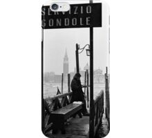 Nice Day for a Gondola Ride iPhone Case/Skin