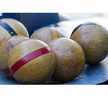 wooden bowls Photographic Print