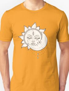 Sweet Eclipse Sketch  Unisex T-Shirt