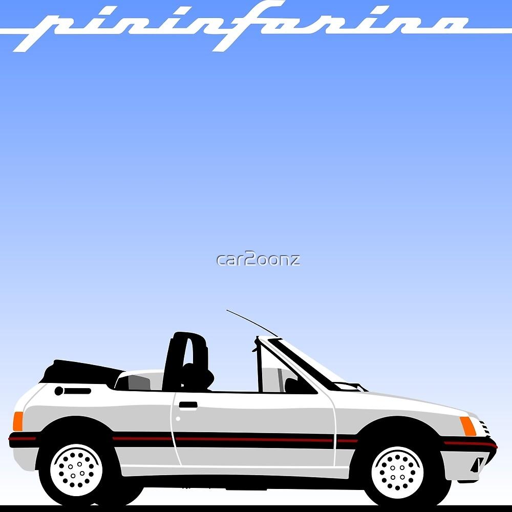 Peugeot 205 by Pininfarina by car2oonz
