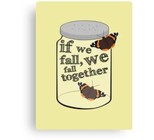 The Butterfly Jar Canvas Print