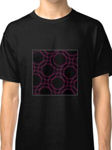Fractal glowing background  Classic T-Shirt