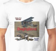 Dogfighters: Triplane vs Camel Unisex T-Shirt