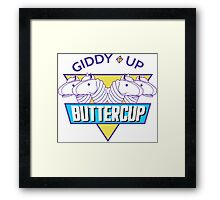 giddy up horsemen Framed Print