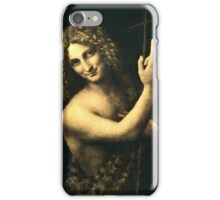 Leonardo Da Vinci - St  John The Baptist  iPhone Case/Skin