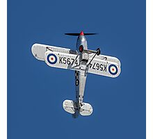 Hawker Fury I K5674 G-CBZP Photographic Print