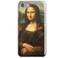 Leonardo Da Vinci - Mona Lisa  iPhone Case/Skin