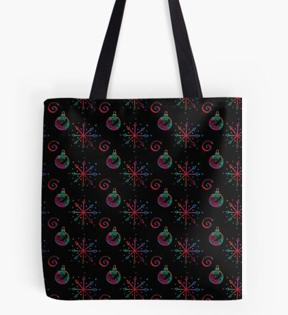 Weihnachts-Wachsmal-Sterne Tote Bag