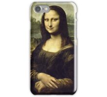 Leonardo Da Vinci - La Joconde, Portrait De Monna Lisa  iPhone Case/Skin
