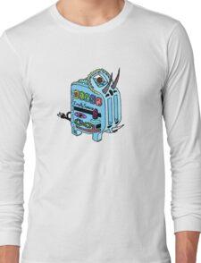 Rainbow Triceratoaster Long Sleeve T-Shirt