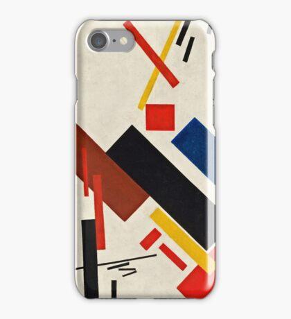 Kazimir Malevich - Stroyuschiysya Dom  iPhone Case/Skin