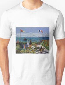 Claude Monet - Jardin A Sainte Adresse  Unisex T-Shirt