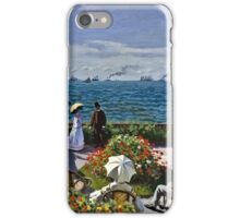 Claude Monet - Jardin A Sainte Adresse  iPhone Case/Skin