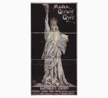 Performing Arts Posters Madam Girard Gyer as Bartholdis statue presented by the republic of France to America lady Liberty 1707 One Piece - Long Sleeve
