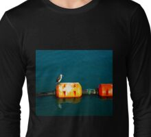 Penguin at Apollo Bay Long Sleeve T-Shirt