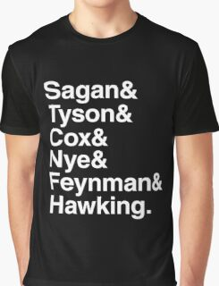 Scientists who have popularised science Graphic T-Shirt