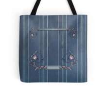Blue Upholstery Tote Tote Bag
