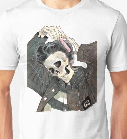 Greaser Skeleton  Unisex T-Shirt